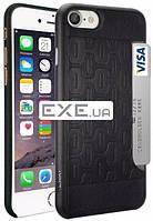 Чехол для iPhone 7 Ozaki O!coat-0.3+ Pocket Black (OC737BK)