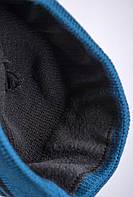 Шапка теплая мужская (флис) AG-0002597 (Черно-синий)