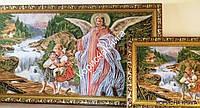 "Картина ""Ангел-Хранитель"" Гобелен в раме (размер 380*680)"