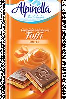 Шоколад молочный Alpinella Toffi 90г
