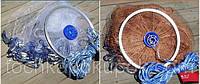 Кастинговая сеть нить малое кольцо  парашут  4 м диаметр 3 высота ∅12мм ,для промышленного лова