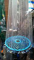 Кастинговая сеть Американка фрисби кольцо  леска парашут  4.2 м диаметр 2 высота ∅12мм ,для промышленного лова