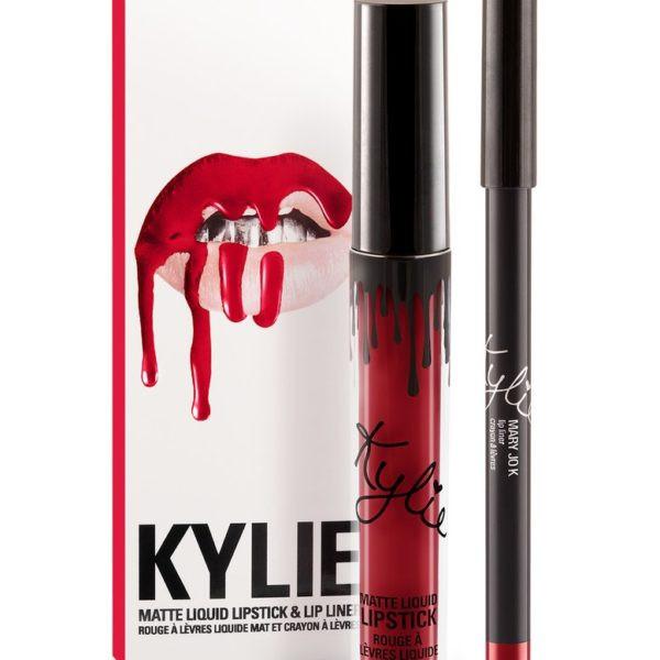 Матовая помада Kylie с карандашом - Цвет 22