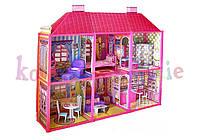 Домик для куклы + кукла в подарок