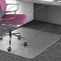 Ковер под кресло прозрачный 91х121см Германия для ковролина. Толщина 2,3мм