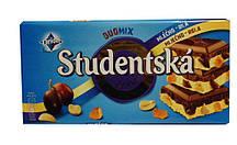 Шоколад молочный с белым Orion Studentska Duomix Mliecno-Bila
