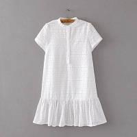 Летнее белое платье, фото 1