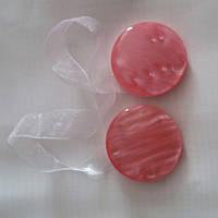 Магнитный подхват розовый для тюли, фото 1