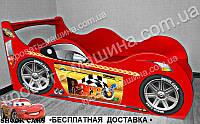 Кровать машина Гонщик RACE + АВТОНОМЕР*, фото 1
