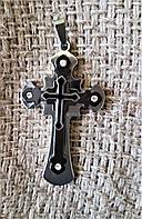 Мужской кулон крест Steel Rage 316L