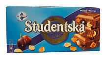 Шоколад Orion Studentska (с изюмом, арахисом и желе)