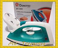 Утюг беспроводной Domotec на подставке DT-1205