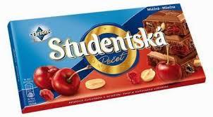 Studentska Pecet Молочный шоколад с вишней