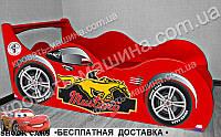 Кровать машина Мустанг Формула + АВТОНОМЕР*, фото 1
