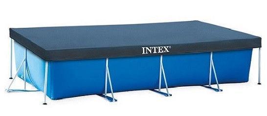 Тент для бассейна intex 28038 (300-200 СМ.)