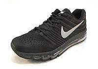 Кроссовки мужские  Nike  Air Max черные (найк аир макс)(р.42,43,44)