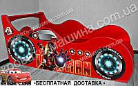 Кровать машина Железный человек + АВТОНОМЕР*, фото 1