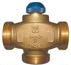 HERZ CALIS-TS-RD трехходовый термостатический распределительный клапан , фото 2