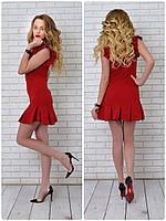 Платье 782 вишня