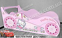 Кровать машина Китти, фото 1