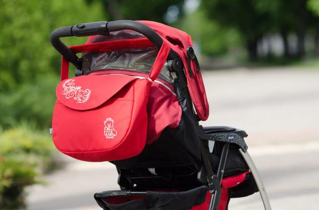 Фото сумки 0355 Беби Бриз на коляске