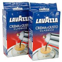 Кофе Lavazza Crema e gusto Classico молотый 250 г., Кофе Лавазза Крема Густо молотый 250 г