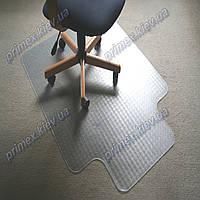 Ковер под кресло прозрачный 92х121см Германия для ковролина. Толщина 2,3мм