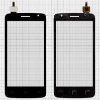 Сенсорный экран для мобильного телефона Prestigio MultiPhone 3501 Duo, черный, (145*72мм), #FPC-HCT50031 V2