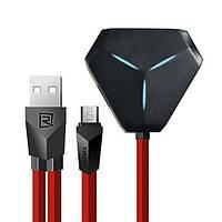 USB Hub Remax Aliens RU-U3 3*USB (Black)