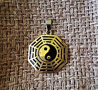 Кулон-медальон  Инь-Янь.