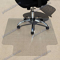 Ковер под кресло прозрачный 120х150см Германия для ковролина. Толщина 2,3мм