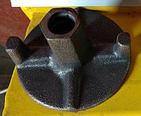 Гайки DW15, 90 мм., Украина, под стяжной винт опалубки (фланцевая гайка для опалубочного анкера шпильки), фото 1
