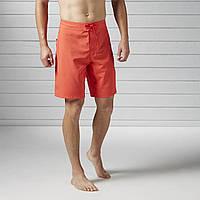 Яркие мужские тренировочные шорты Reebok Beachwear BK4813 - 2017