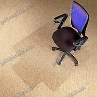 Ковер под кресло прозрачный 120х150см Германия для ковролина. Толщина 2,3мм. Толщина 2,3мм