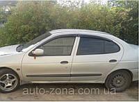 Ветровики Renault Megane I Sd 1995-2002 дефлекторы окон