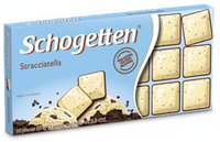 Шоколад Schogetten (Шогеттен) Белый с шоколадной крошкой