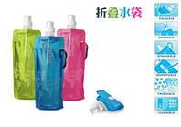Спортивная пластиковая фляга анти-бутылка для напитков Vapur, фото 1