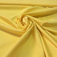 Батист однотонный желтый, фото 1