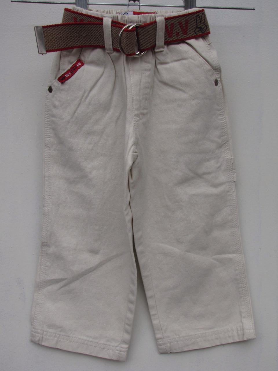 Белые брюки для мальчиков 92,98,104,110,116 роста