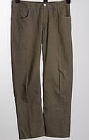United Colors of Benetton летние брюки W33 L30 цвет хаки б/у