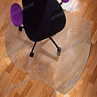 Ковер под кресло прозрачный 99х125см. Германия. Толщина 2,0мм