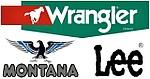 Wrangler, Lee & Montana джинсы