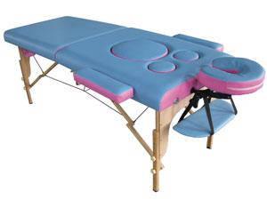Массажные столы бывают складными (переносными) и стационарными. Со складным столом вы с легкостью сможете передвигаться по городу, и поехать на дом к своему клиенту.