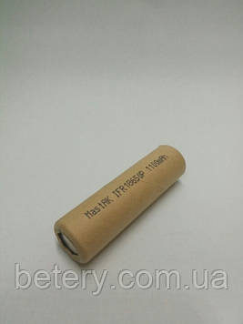 Аккумулятор MastAK IFR18650 3,2V 1100mAh Li-Fe 30А-разр.25`