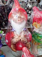 """Декоративная фигура для вашего сада и дома """"гном на грибке"""""""