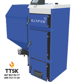 Котел Корди АОТВ 30А (с автоматической подачей топлива) твердотопливный котел 30 кВт