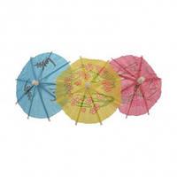 """Шпажки для канапе """"Зонтики"""" цветные 10 см"""