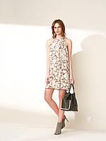 Платье лён женское XINT Xint 285320 HAKI 40