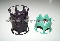 Фиксатор арматуры перекрытий Корона (защитный слой 15, 20, 25 (из 2-х штук - 40, 45, 50 мм.), 1000 шт. в упак.