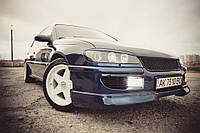 """Накладка на передний бампер для Opel Omega B """"Steinmetz"""", Губа Опель Омега Б"""
